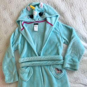 Unicorn girls robe
